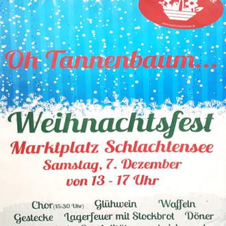 Weihnachtsfest am Samstag, 7. Dezember von 13-17 Uhr